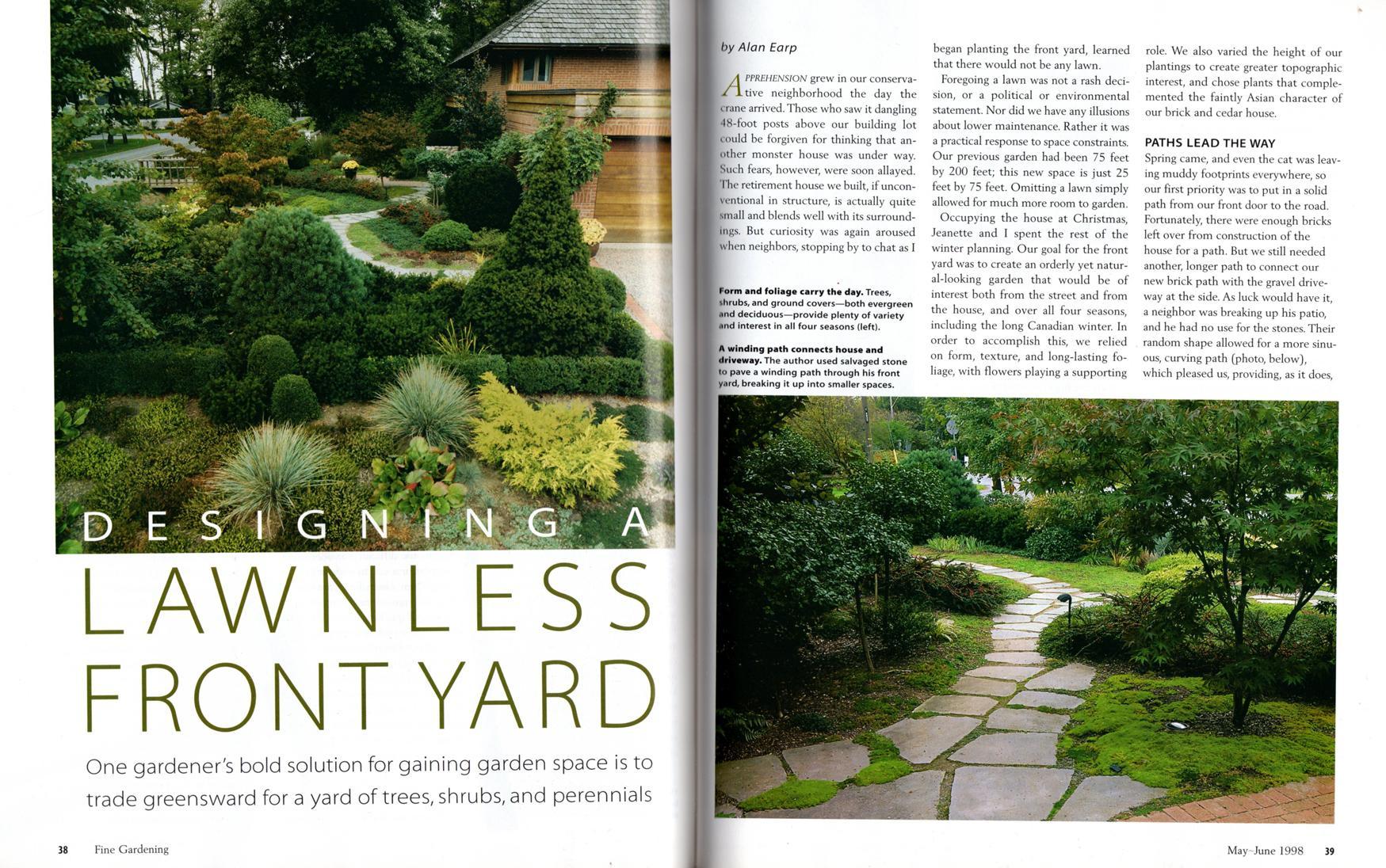 Tauntons Fine Gardening Magazine June 1998 Eye Catching Annuals
