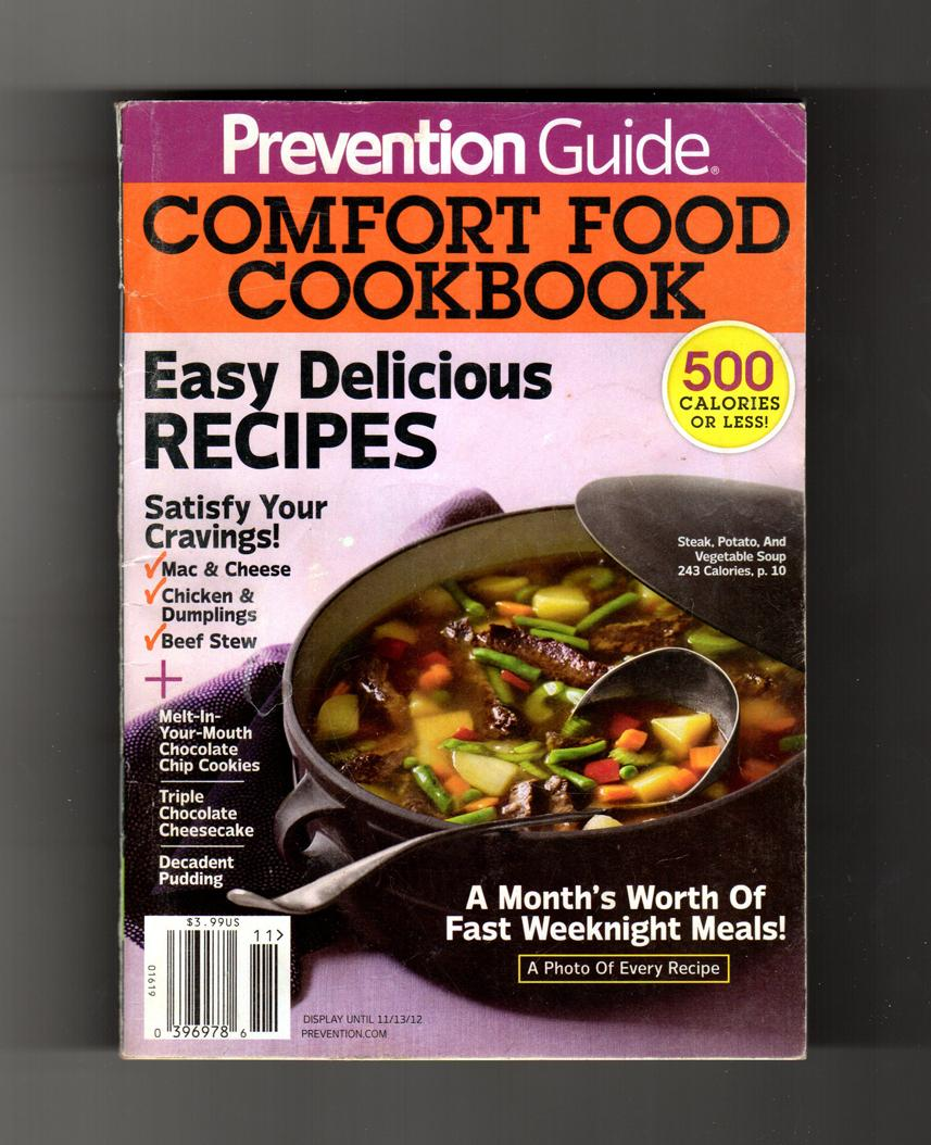 Prevention guide comfort food cookbook easy delicious recipes prevention guide comfort food cookbook easy delicious recipes rodale pasta pizza forumfinder Choice Image
