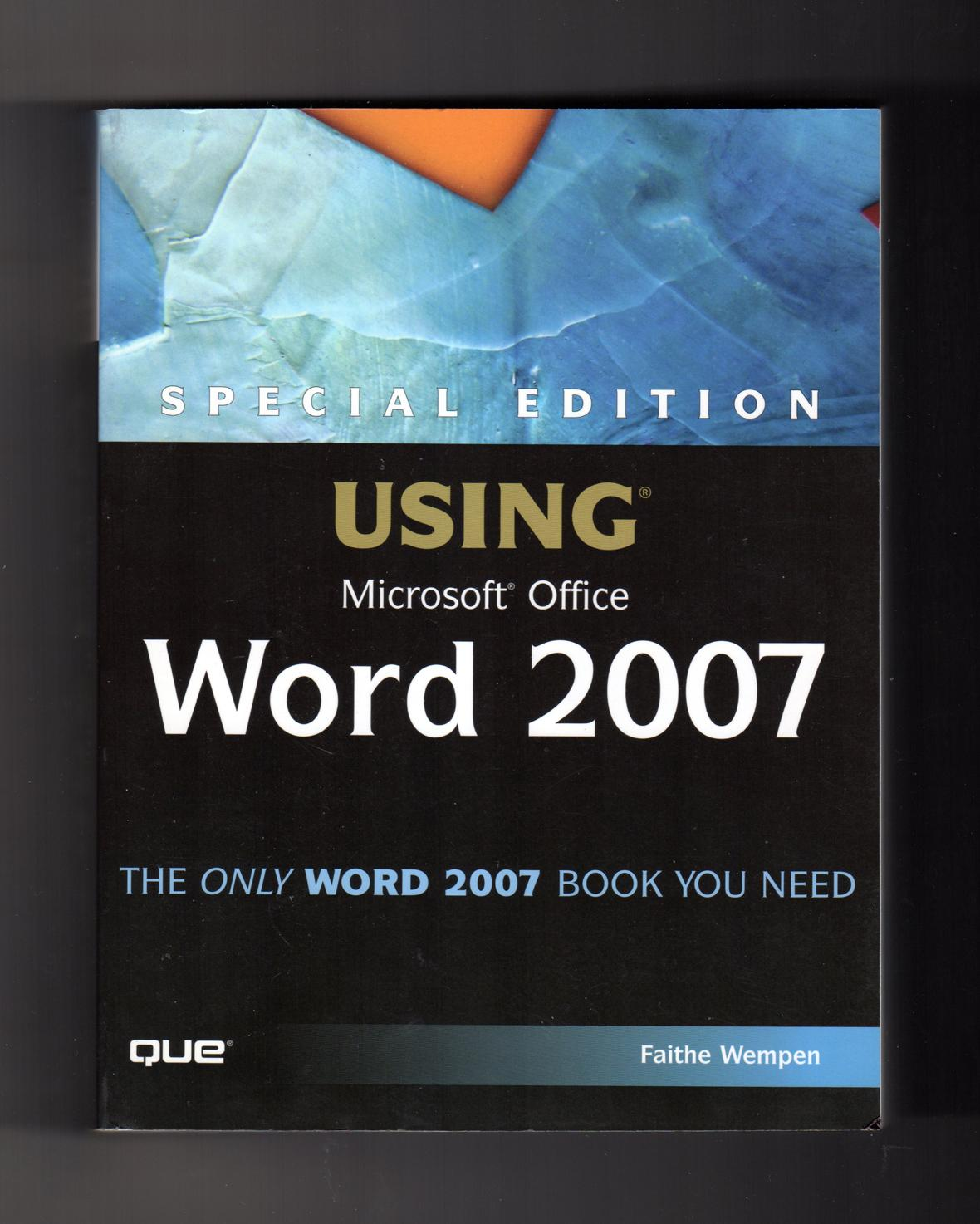 Special Edition Using Microsoft Office 2007