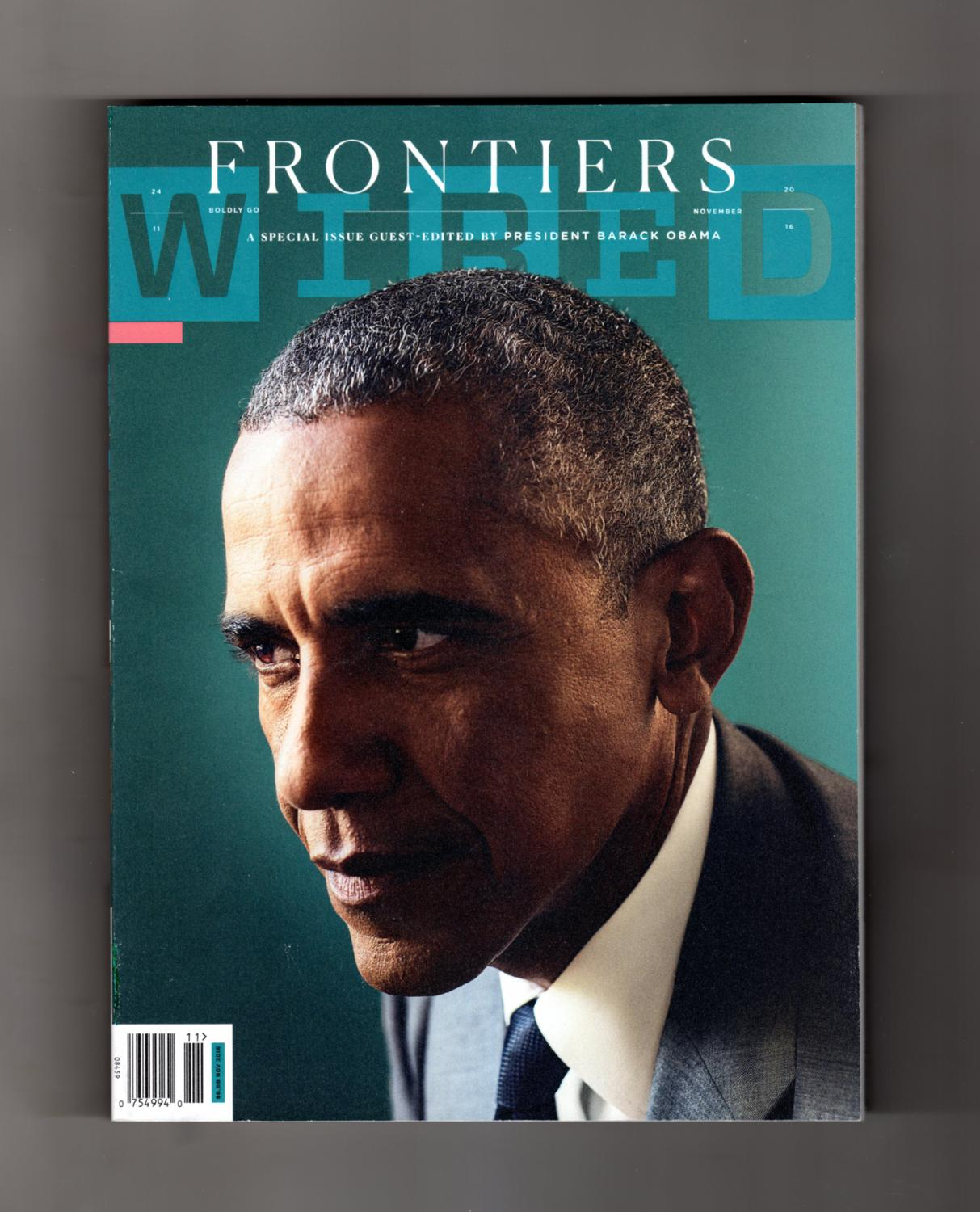 Wired Frontiers, 2016  Barack Obama, Guest