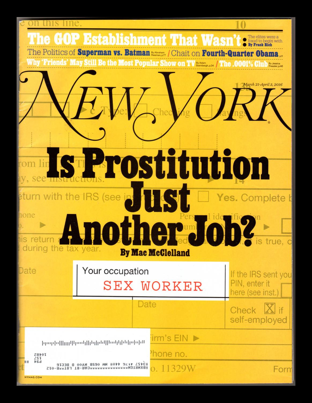 New York Magazine - March 21-April 3, 2016