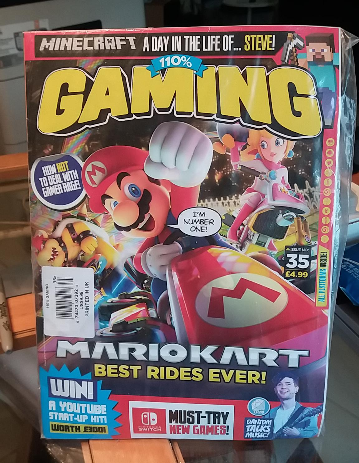 110% Gaming Magazine - Issue 35  With Three