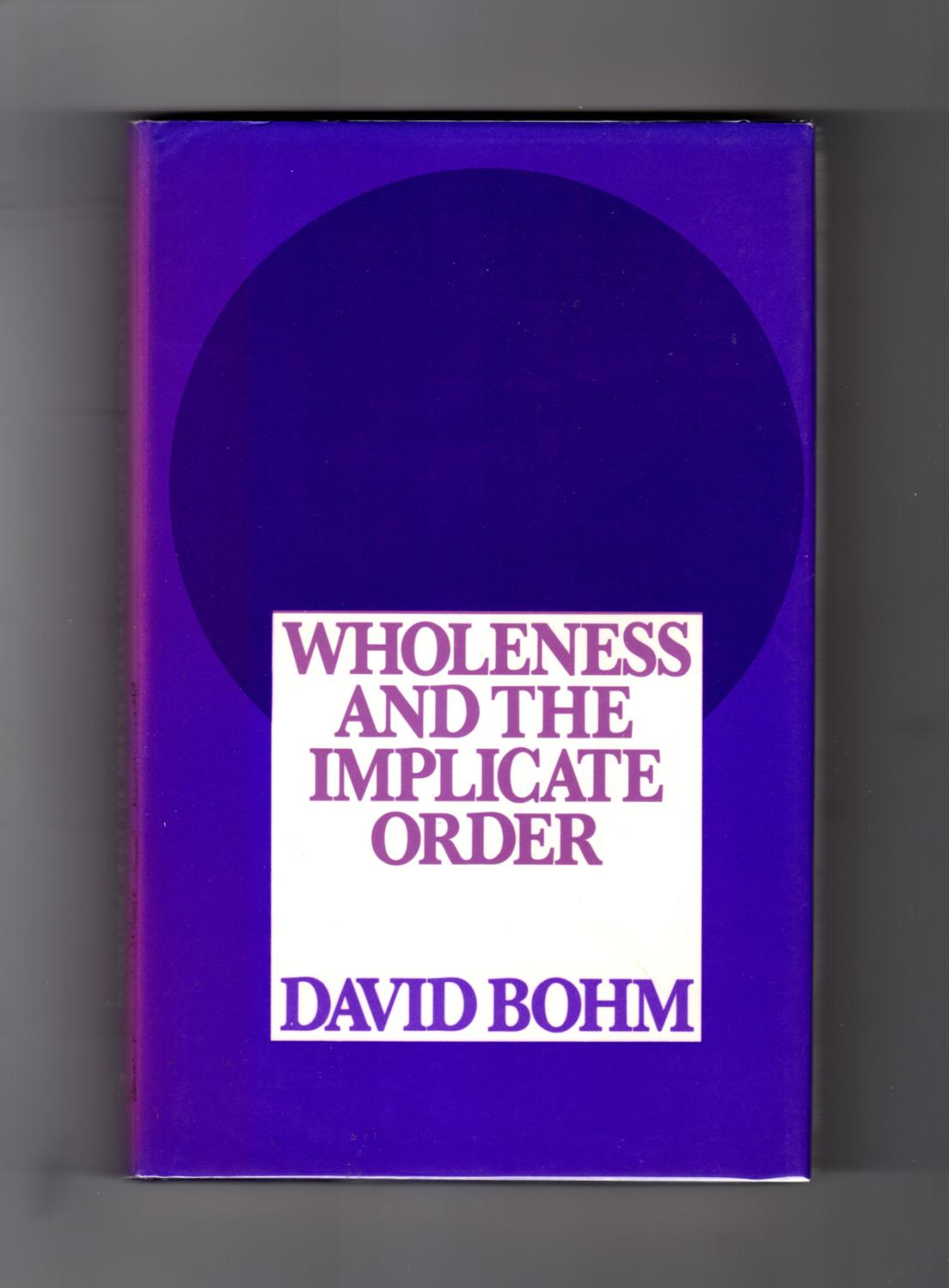Wholeness And The Implicate Order Pdf Pdf Data