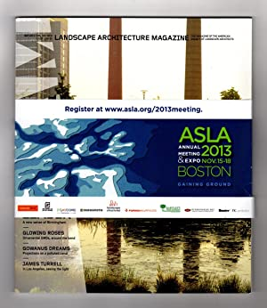 Landscape Architecture Magazine / Volume 103, Number 9 / September 2013. TOM Leader (A New Sense ...