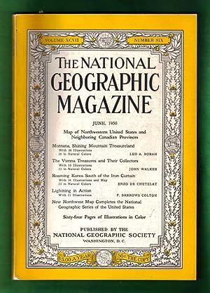 The National Geographic Magazine / June, 1950. Montana; Vienna Treasures; Korea; Lightning in ...