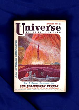 Universe Science Fiction - September, 1953: Bell, George (editor);