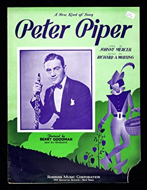 Peter Piper / 1936 Vintage Sheet Music (Benny Goodman, Johnny Mercer, Richard A. Whiting)