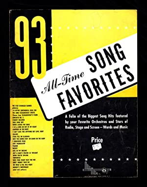 93 All-Time Song Favorites music from the Thirties: ed.) Jack Mills