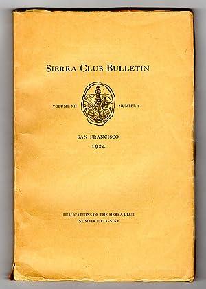 Sierra Club Bulletin - Volume XII, Number: C. Nelson Hackett,