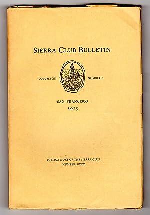 Sierra Club Bulletin - Volume XII, Number: James S. Hutchinson,