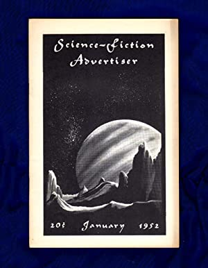 Science-Fiction Advertiser / January, 1952 / Morris: Roy Squires (editor);