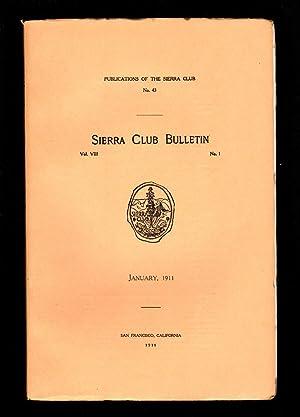 Sierra Club Bulletin - January 1911: William F. Bade