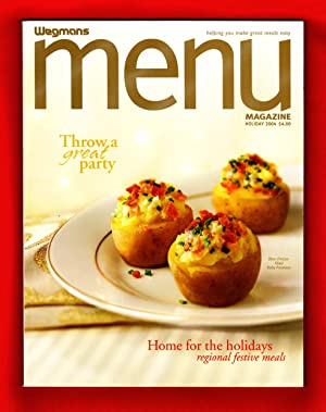 Wegmans MENU Magazine / Holiday 2004 / Issue 15