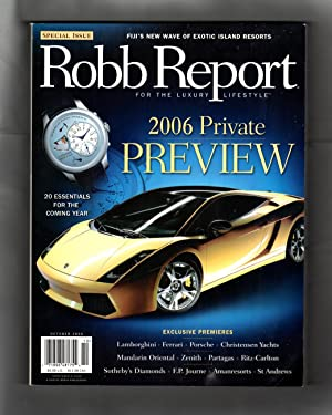 The Robb Report 2006 Private Preview /: Larry Bean (editor)