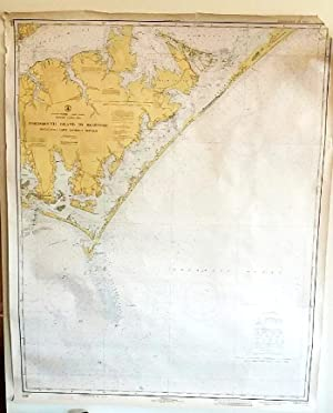 Coastal and Geodetic Survey Chart C&GS 1233 (N.O. 11252) / First Edition June, 1915 / North Carol...