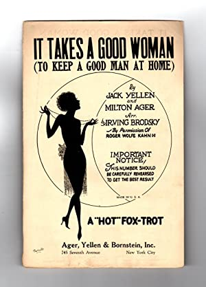 It Takes A Good Woman (To Keep A Good Man At Home) / 1926 Vintage