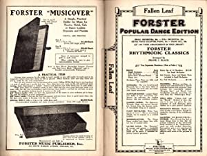 Fallen Leaf / 1927 Vintage Fox-Trot Sheet Music / Piano / Frederic Knight Logan. ...