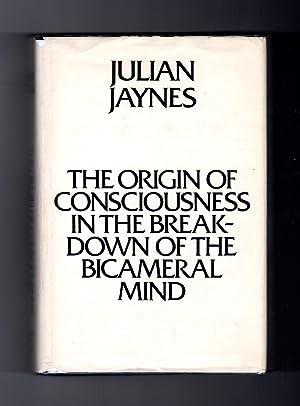 The Origin of Consciousness in the Breakdown: Jaynes, Julian