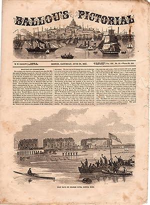 Ballou's Pictorial Drawing-Room Companion,June 20, 1857. Boat: Ballou, Maturin M.