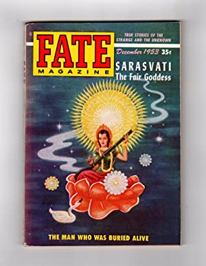 Fate Magazine - True Stories of the Strange and The Unknown / December, 1953. Divination (...