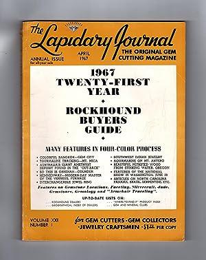 Lapidary Journal 1967 Twenty-First Year Rockhound Buyers: Leiper, Hugh (Editor