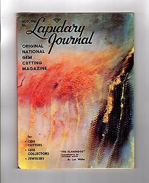 Lapidary Journal - November, 1965. Petrified Wood,: Leiper, Hugh (Editor
