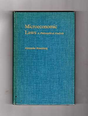 Microeconomic Laws - A Philosophical Analysis