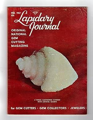 Lapidary Journal - February, 1967. Barcelona Gemological: Leiper, Hugh (Editor