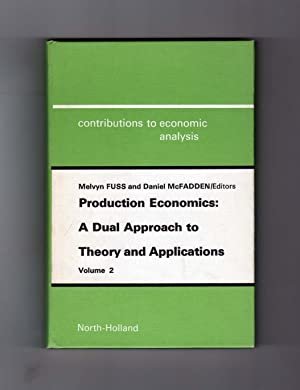 Production Economics: A Dual Approach to Theory and Applications - Volume 2