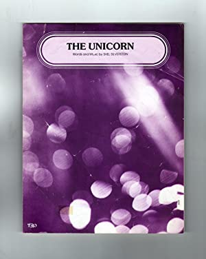 Vintage 1968 Sheet Music: The Unicorn / Shel Silverstein. Pop/rock music ephemera