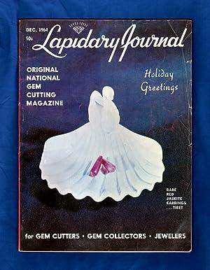 Lapidary Journal - December, 1964. Red Jadeite: Leiper, Hugh (Editor