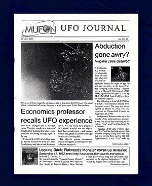 MUFON UFO Journal / October, 2012. Flatwoods: Marsh, Roger (editor);
