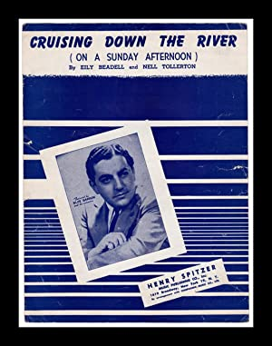 Cruising Down the River (On A Sunday Afternoon) - vintage 1945 sheet music