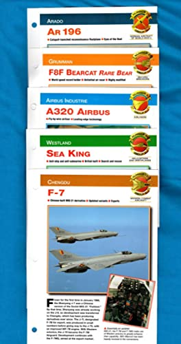 41 Aircraft Cards from Aircraft of the World - The Complete Guide: Staff, International Masters ...