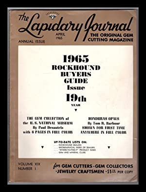 Lapidary Journal 1965 Nineteenth Year Rockhound Buyers: Leiper, Hugh (Editor