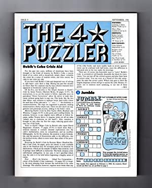 The Four-Star Puzzler - September, 1981. Issue: Shortz, Will; Hook,