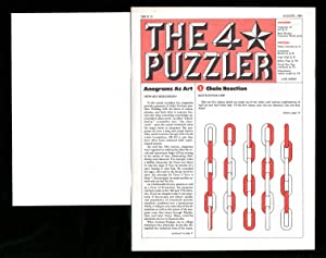 The Four-Star Puzzler - August, 1983: Issue: Emily Cox &