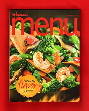 Wegmans MENU Magazine / Winter 2015 - Cuisine, Cookbook Recipes