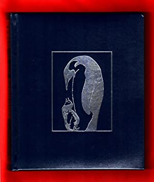 March of the Penguins (National Geographic). Deluxe Leather Edition, with accompanying 27 x 39.5 ...