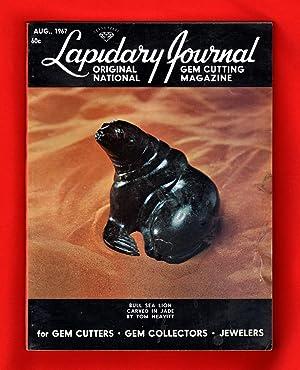 Lapidary Journal - August, 1967. Tom Neavitt: Leiper, Hugh (Editor