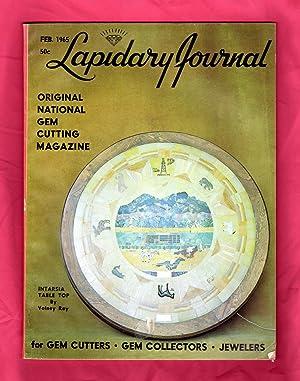 Lapidary Journal - February, 1965. Quartz Gems: Leiper, Hugh (Editor