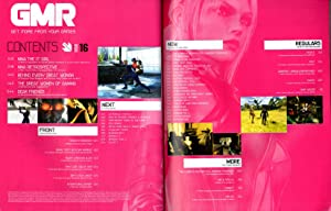 GMR Magazine Issue # 16, The Women Issue - May, 2004. Nina - Death by Degrees; Splinter Cell ...