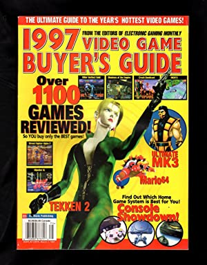 1997 Video Game Buyer's Guide (from Electronic Gaming Monthly): Ed Semrad (Editor-in-Chief)