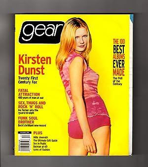 Gear Magazine - December, 1999. Kirsten Dunst: Bob Guccione, Jr.