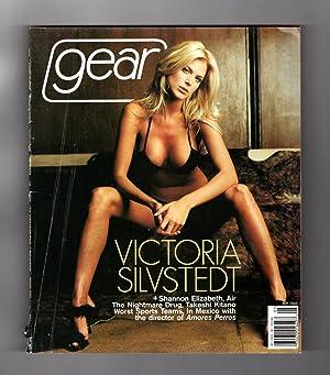 Gear Magazine - May, 2001. Victoria Silvstedt: Bob Guccione Jr.