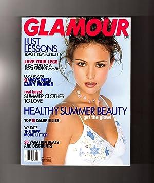 Glamour Magazine - June, 1998. Josie Maran Cover. Sarah Jessica Parker, Lust Lessons, How Men Envy ...
