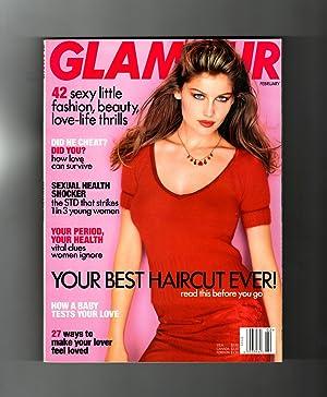 Glamour Magazine - February, 1998. Laetitia Casta: Ruth Whitney (Editor