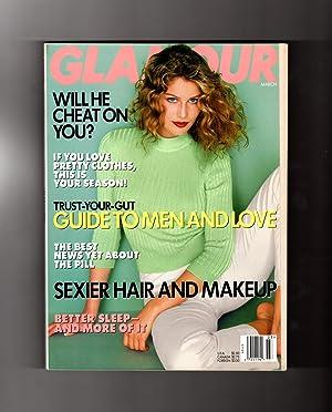 Glamour Magazine - March, 1997. Laetitia Casta: Ruth Whitney (Editor