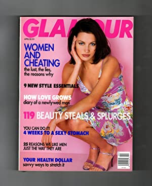 Glamour Magazine - April, 1996. Nieves Alvarez Cover. Women and Cheating; 9 Style Essentials; How ...