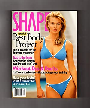 Shape Magazine - May, 1997. Daniela Pestova Cover. Best Body Project; Eat to be Lean; Fitness Fro...